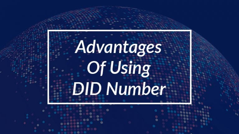 Benefits Of DID Number
