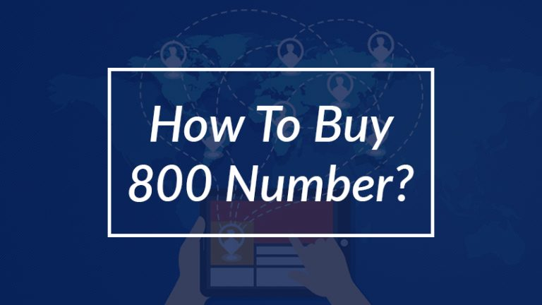 how to buy 800 number