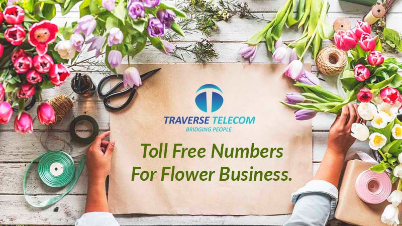 toll free number for flower business