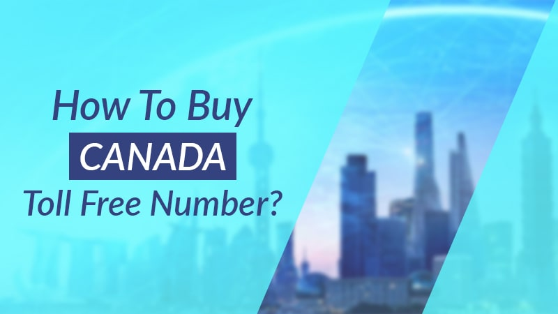 buy Canada Toll free number